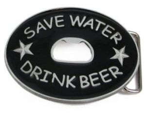Тока за мъжки колан с отварачка за бира
