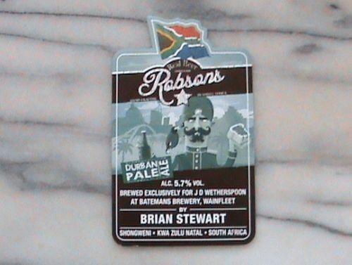 Shongweni Brewery, Durban Pale Ale by Brian Stewart