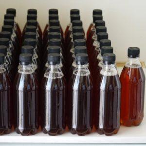 PVC бутилки 500 мл за еднократна употреба