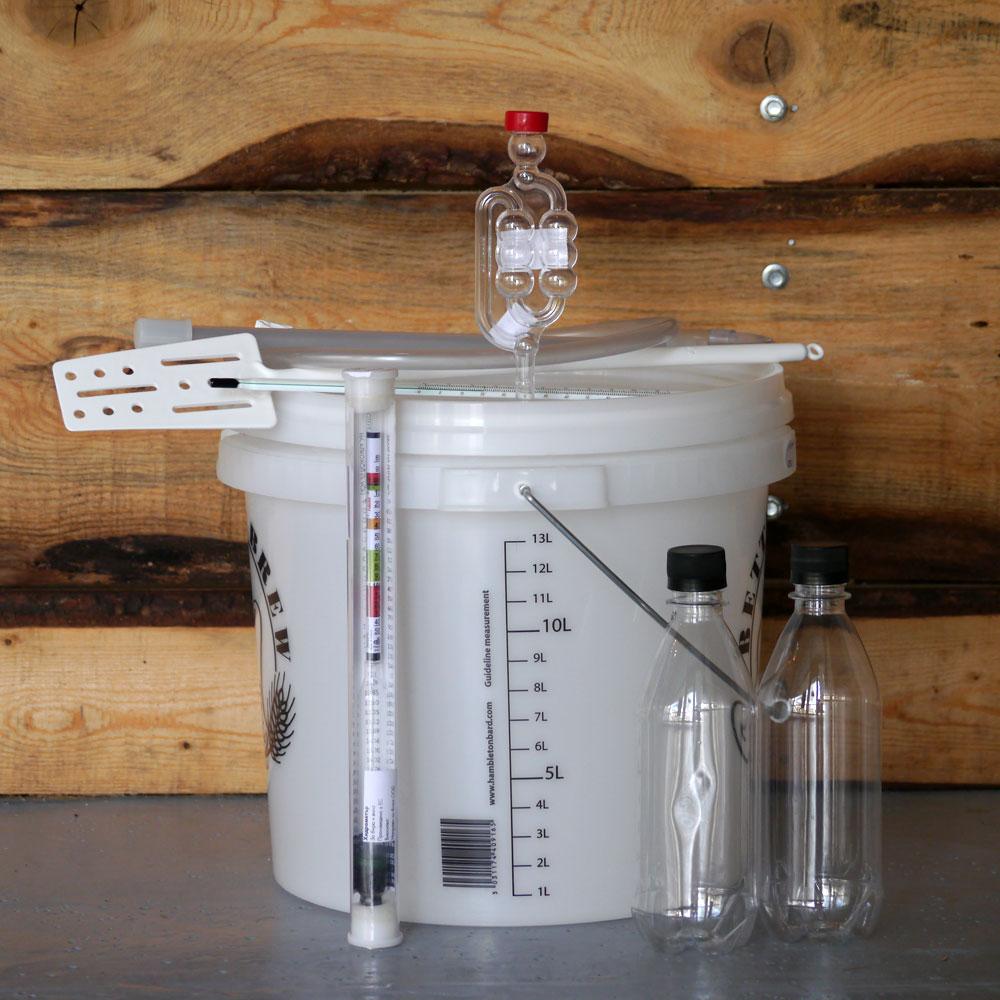 Комплект за ферментация на 15 литра бира, стартов пакет за бира от кит за малцов екстракт – Направи си бира