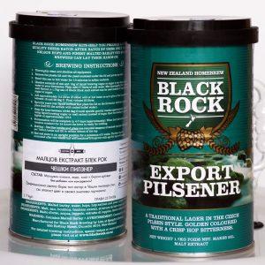 Блек Рок Експорт Пилзен, охмелен малцов екстракт - малцови екстракти от Направи си бира