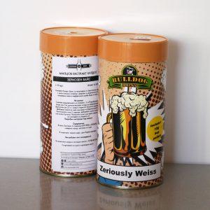 Булдог Зериозен Вайс, охмелен малцов екстракт - малцови екстракти от Направи си бира