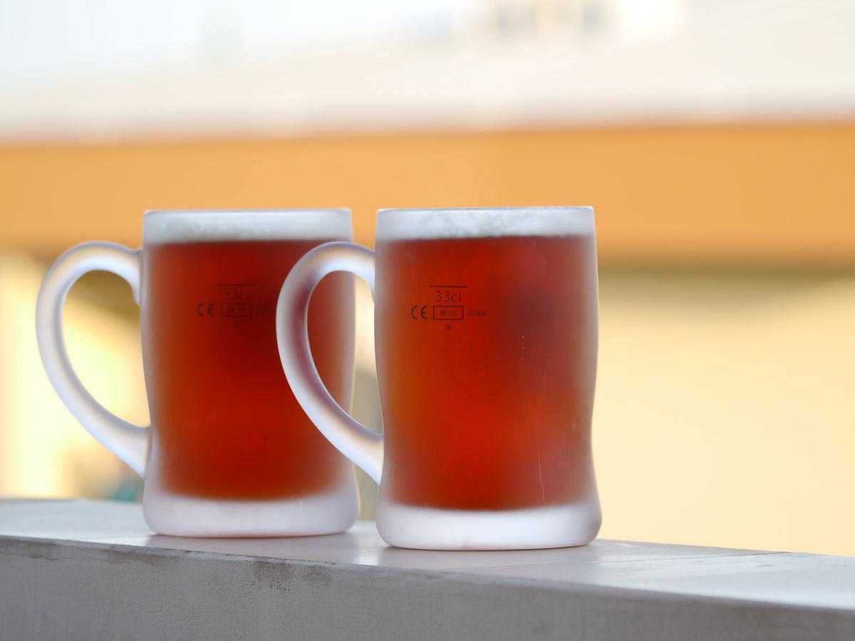 Жива бира направена вкъщи