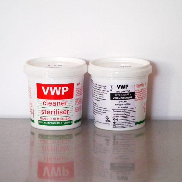 Препарат за стерилизация VWP 100гр, дезинфекция на оборудване за бира, пивоварене - Направи си бира