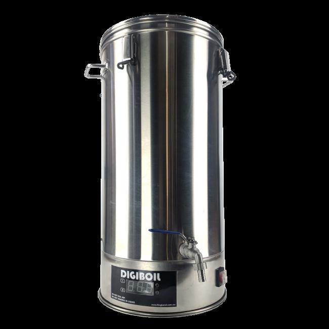 Турбо бойлер 35 литра към система за пивоварене Брюстър Бийкън – домашен пивовар, Направи си бира ООД