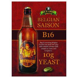 Bulldog B16 Дрожди за Белгийски сейсон