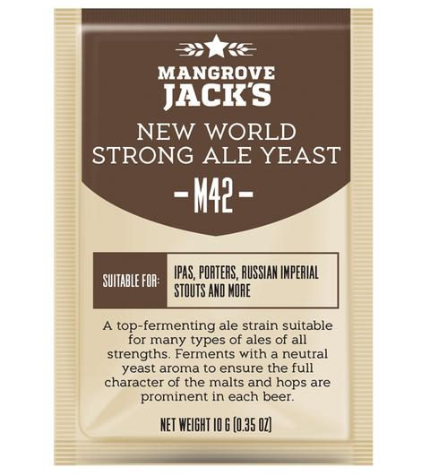 Mangrove Jack's M42 NEW WORLD STRONG ALE бирени дрожди