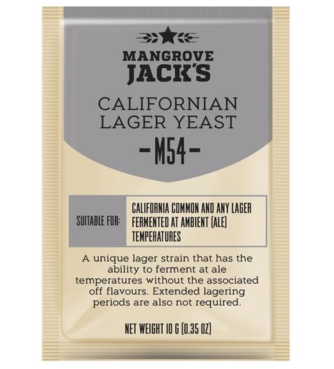 Mangrove Jack's M54 CALIFORNIAN LAGER бирени дрожди