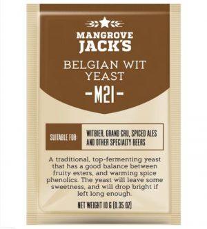 Mangrove Jack's M21 BELGIAN WIT дрожди за бира