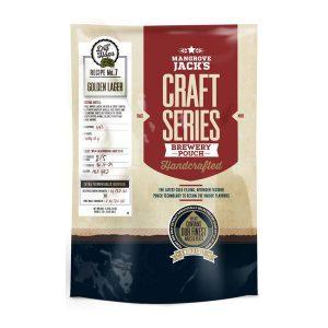 Mangrove Jack's Голдън Лагер със сухо охмеляване, екстракт за домашна крафт бира - Направи си бира ООД, магазин за домашния пивовар