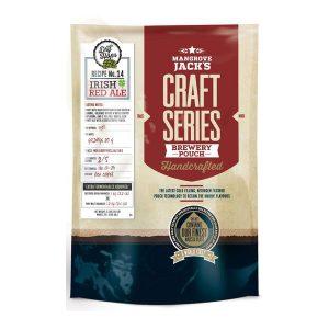Mangrove Jack's Ирландски Червен Ейл със сухо охмеляване, екстракт за домашна крафт бира - Направи си бира ООД, магазин за домашния пивовар