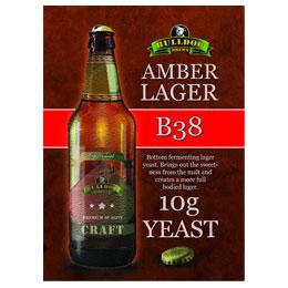 Bulldog B38 Дрожди за амбър лагер, дрожди с долна ферментация - магазин за домашния пивовар, Направи си бира ООД