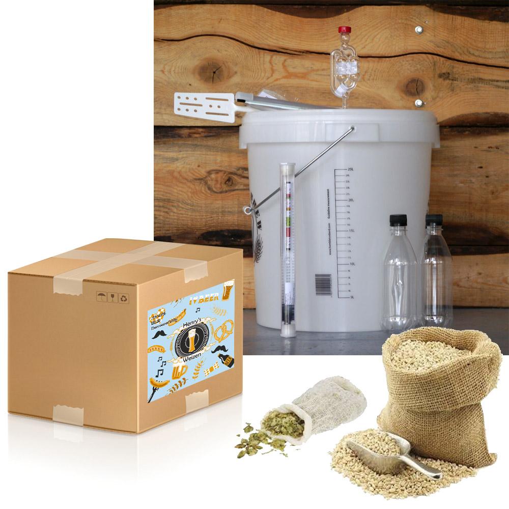 Стартов пакет за домашна крафт бира 10 литра – Идиалният подарък за всеки любител на хубавата бира, Направи си бира ООД