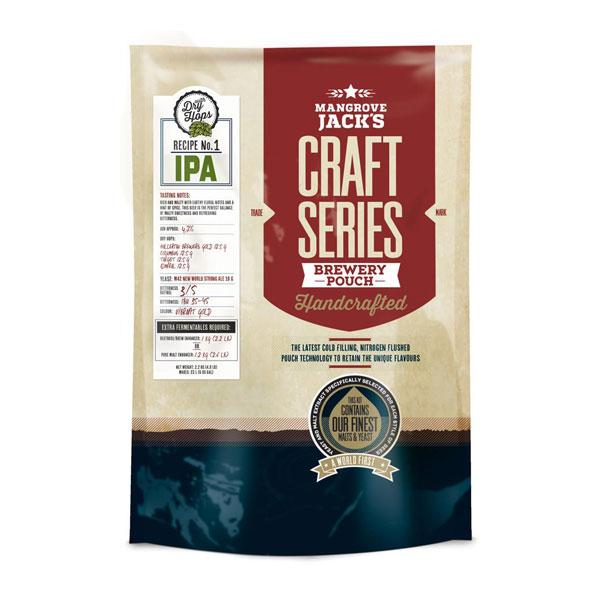 Mangrove Jack's ИПА със сухо охмеляване, малцом екстракт за домашна крафт бира – Направи си бира ООД, магазин за домашния пивовар