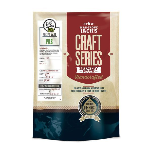 Mangrove Jack's Пилс със сухо охмеляване, малцом екстракт за домашна крафт бира - Направи си бира ООД, магазин за домашния пивовар