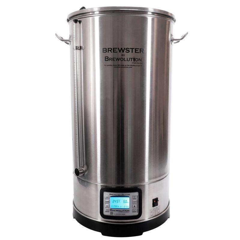 Пивоварна система Брюстър Бийкън 70, варка от 25 до 65 литра – Направи си бира ООД, магазин за домашния пивовар
