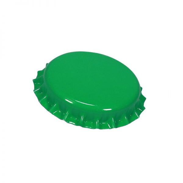 Светло зелени капачки корона 26 мл - магазин за домашния пивовар, Направи си бира ООД