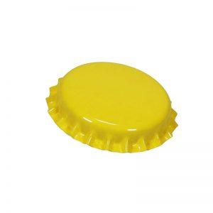 Жълти капачки корона 26 мл - магазин за домашния пивовар, Направи си бира ООД