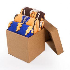 Подаръчна кутия памучни чорапи Rock n' Beer - идея за подарък, Направи си бира ООД