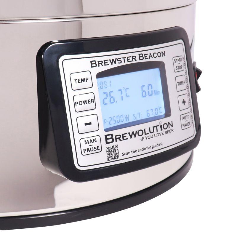 Brewster Beaocn 40 - подобрения на пивоварната система, версия 2020, Направи си бира официален дистрибутор за България на Brewolution