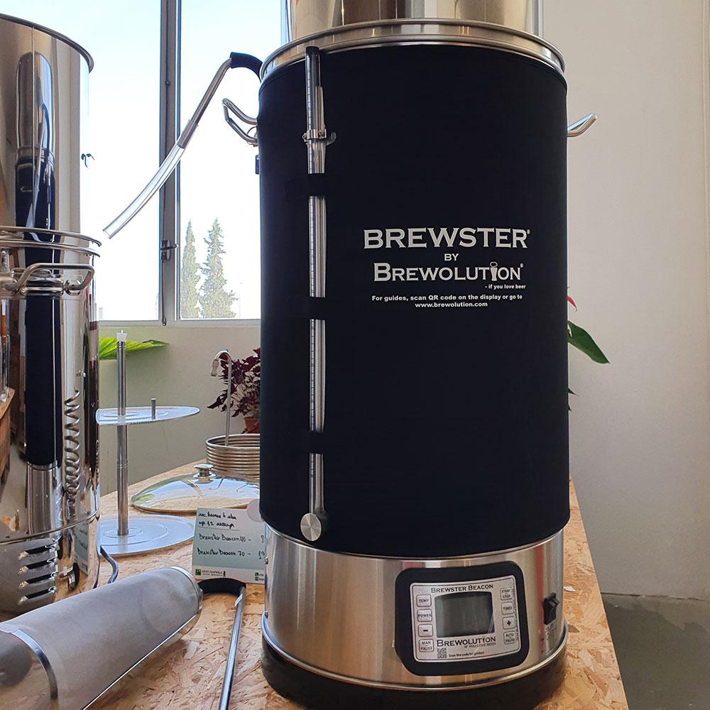 Яке за изолация на пивоварна система Брюстър Бийкън 70 – домашен пивовар, Направи си бира ООД