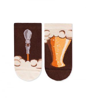 Къси чорапи с принт наливна бира - идея за подарък, Направи си бира ООД