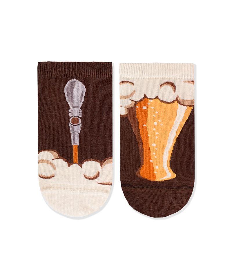 Къси чорапи с принт наливна бира – идея за подарък, Направи си бира ООД
