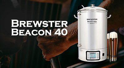 Brewster Beacon 40 - автоматизирана пивоварна система от Brewolution - Направи си бира ООД, официален представител за България