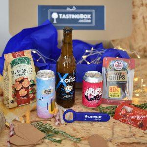Подаръчна кутия за дегустация на крафт бира - стил NEIPA, идея за подарък от Направи си бира