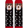 Памучни чорапи с кучета Fox Terrier, меки дамски и мъжки чорапи - идея за подарък, Направи си бира ООД