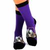 Памучни чорапи с кучета French Bulldog - подари меки дамски или мъжки чорапи, произведени в България