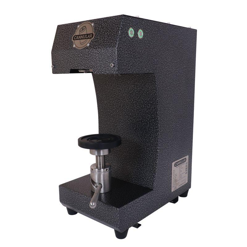 Cannular Компактна полуавтоматична машина за затваряне на кенове, без лостове само с бутони – магазин за крафт пивовара, Направи си бира ООД