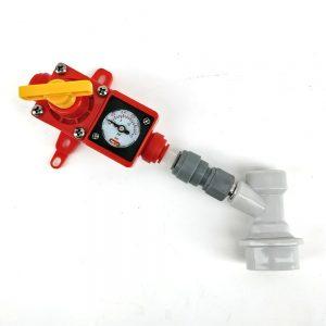 Duotight Клапан за регулиране на налягането с бърза връзка и конектор за кег сив - магазин за крафт пивовара, Направи си бира ООД