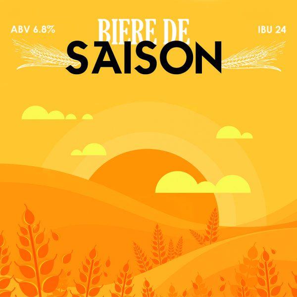 Biere De Saison - кит за варене на домашна крафт бира, създадена от Робърт Хенри - майстор пивовар в Направи си бира ООД