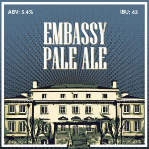 Embassy Pale Ale - кит за варене на домашна крафт бира, създадена от Робърт Хенри - майстор пивовар в Направи си бира ООД